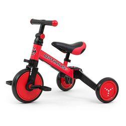 Dětská tříkolka 3v1  Optimus - red - červená SR_DS14494454