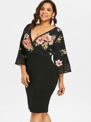 Dámské šaty plus size Esperanza