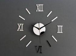 Tükör hatású fali óra