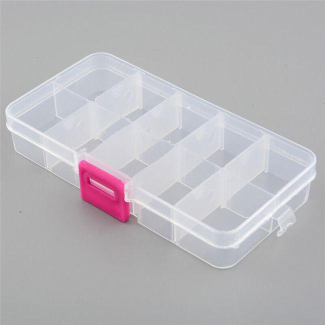 Plastikowy organizer box 1