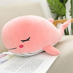 Plyšák Whale