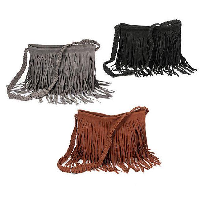 Dámská kabelka s třásněmi 1