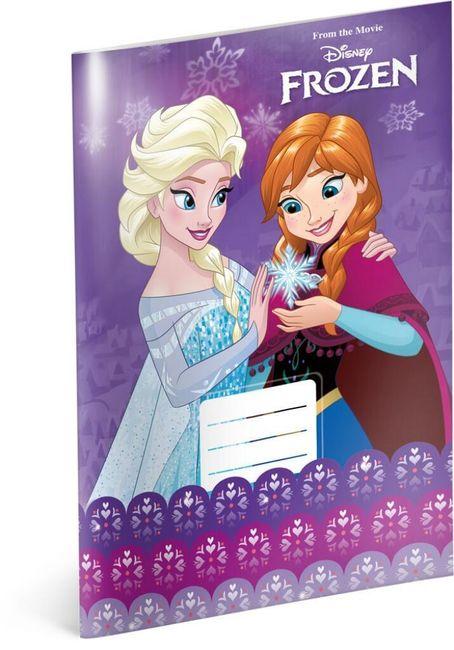 Caiet - Regatul de gheață - Anna și Elsa - Nr. 424 - 5 bucăți 1