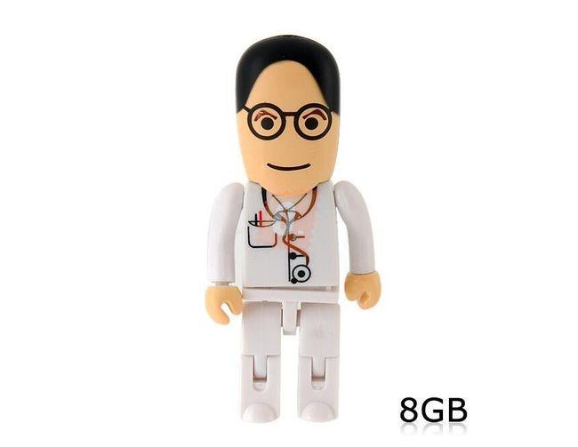 8GB Flashdisk - doktor 1