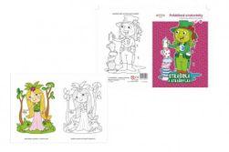 Kolorowanki-Bajkowe Duchy i straszydła 15x21cm RM_10100521