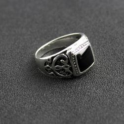Pánský prsten s kamenem