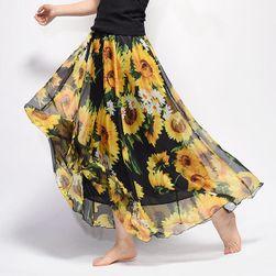 Длинная воздушная юбка Summer- различные цветовые вариации