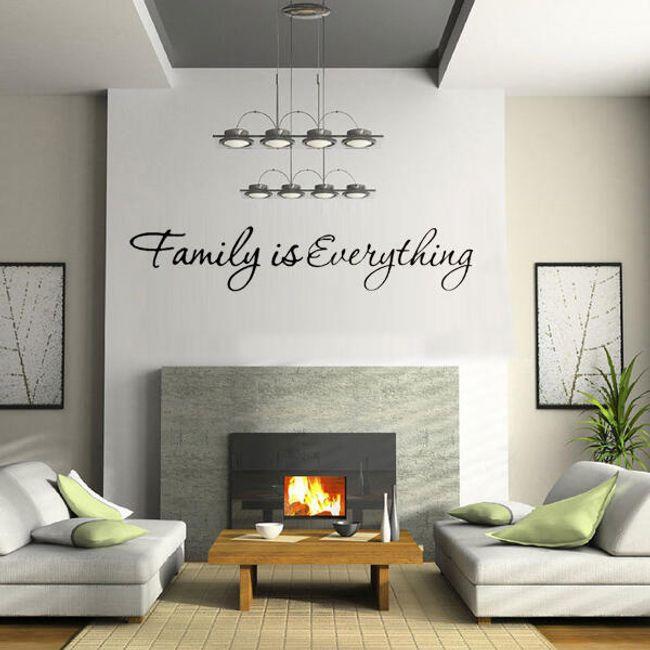 Настенная наклейка Family is Everything 1