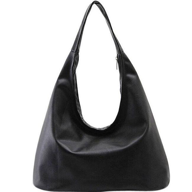 Женская сумочка в привлекательном черном цвете 1