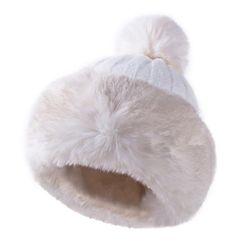 Damska zimowa czapka z pomponem WC113
