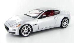 Maserati GranTurismo stříbrné 1:24 PD_1321146
