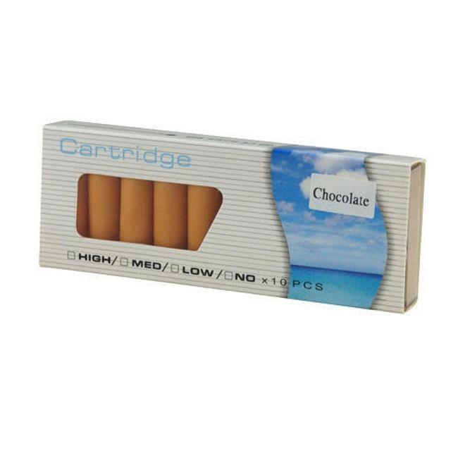 Balení 10 cartridgí do e-cigarety - Čokoláda, vysoký obsah nikotinu 1