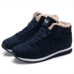 Зимние утепленные ботинки унисекс - 2 расцветки