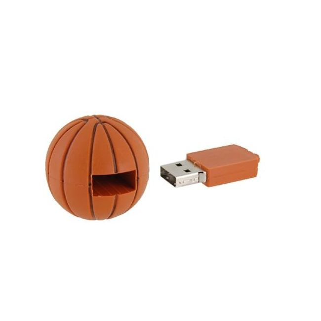8GB Flashdisk ve tvaru baskatbalového míče 1