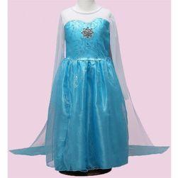 Modré šatičky pro princeznu