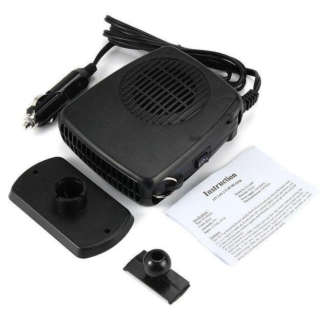 Přenosné topení do autozapalovače s ventilátorem 1