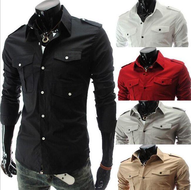 Stylowa koszula męska 1
