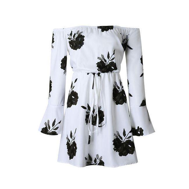 Květinové letní šaty Brenda - 4-velikost č. 6 1
