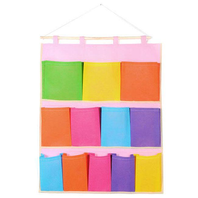 Pestrobarevný kapsář - 12 kapes 1