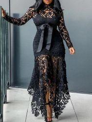Дамска рокля в плюсови размери Armelle