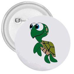 Bedž sa morskom kornjačom