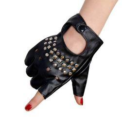 Дамски ръкавици без пръсти DR647