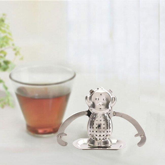 Jekleno cedilo za čaj 1