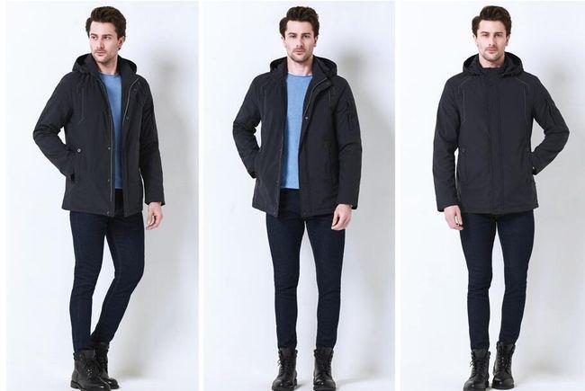 Férfi téli kabát Zallen