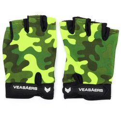 Maskované cyklistické rukavice - 4 varianty