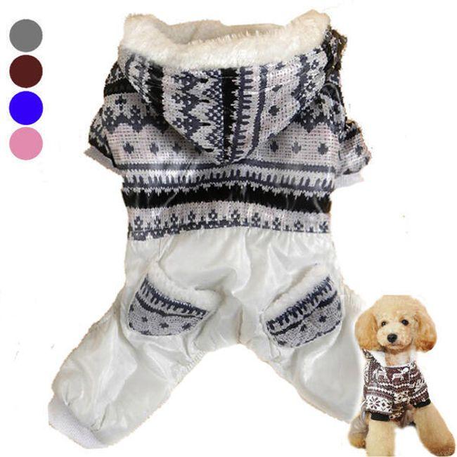 Ubranko zimowe dla psa - 4 kolory 1