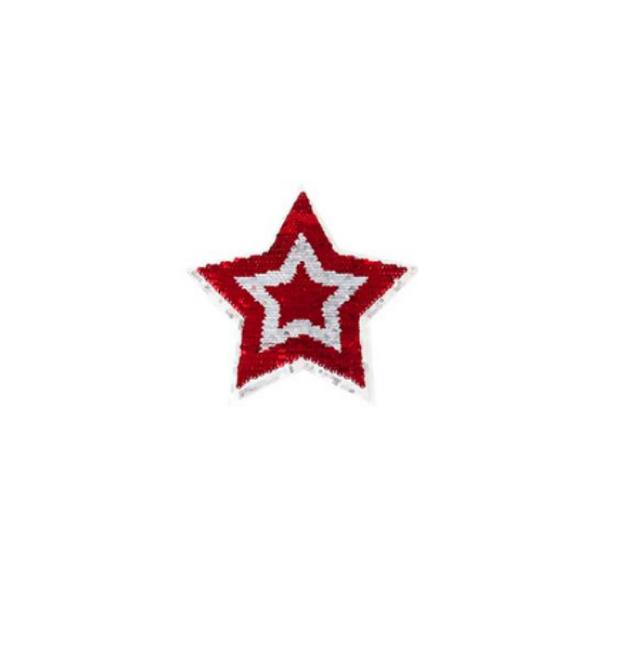 Hvězda - nášivka na oblečení 1