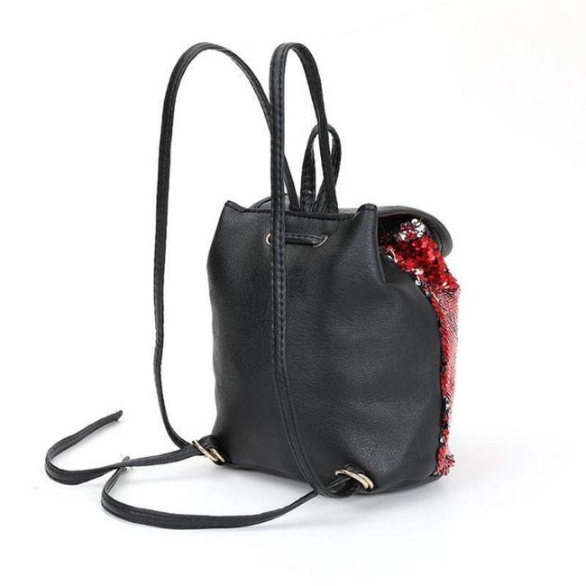 Női hátizsák flitterrel - 4 változat