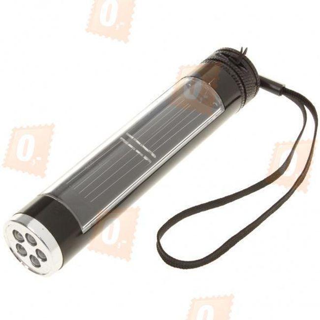 Outdoorová 5 LED solární svítilna 1