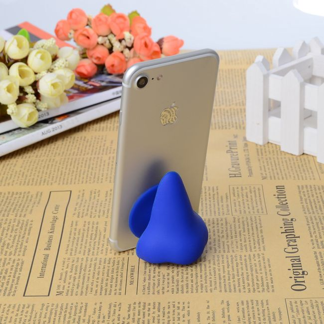 Silikonový stojan na telefon - nos 1