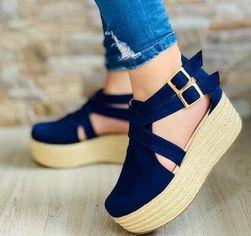 Dámské sandály na platformě Extela