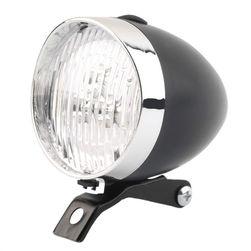Światło rowerowe LED w stylu retro