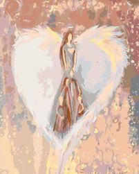 Malování podle čísel - FAMILY ANGEL OJ_27290-40X-VYP