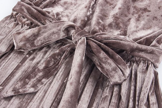 Hivatalos bársony ruha - 4 szín