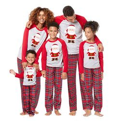 Novogodišnja pidžama za celu porodicu MER88