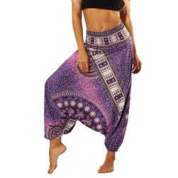Pantaloni Harem cu un model elegant