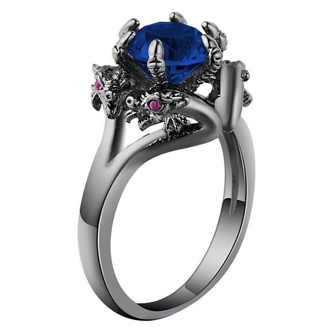 Prsten s dračím kamenem - 3 barvy 1