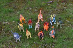 Plastični model dinosaurusa - 12 kom