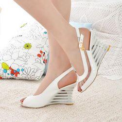 Damskie sandały na koturnie Sharona