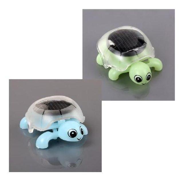 Solární želvička ve 2 barvách 1