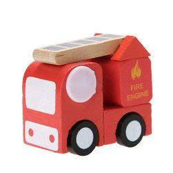Dřevěné mini autíčko pro děti