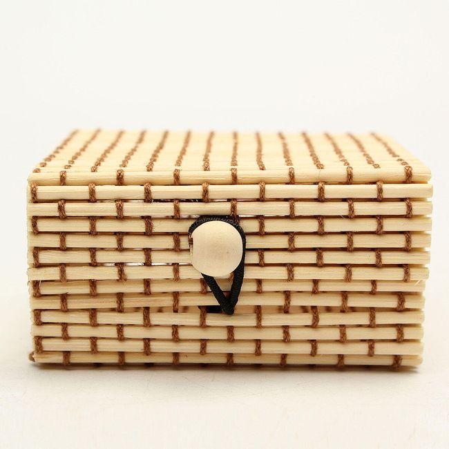Cutie de bijuterii din lemn de bambus 12