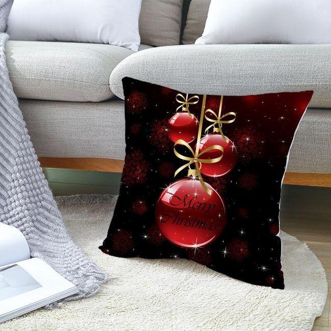 Bożonarodzeniowa poszewka na poduszkę VD8 1