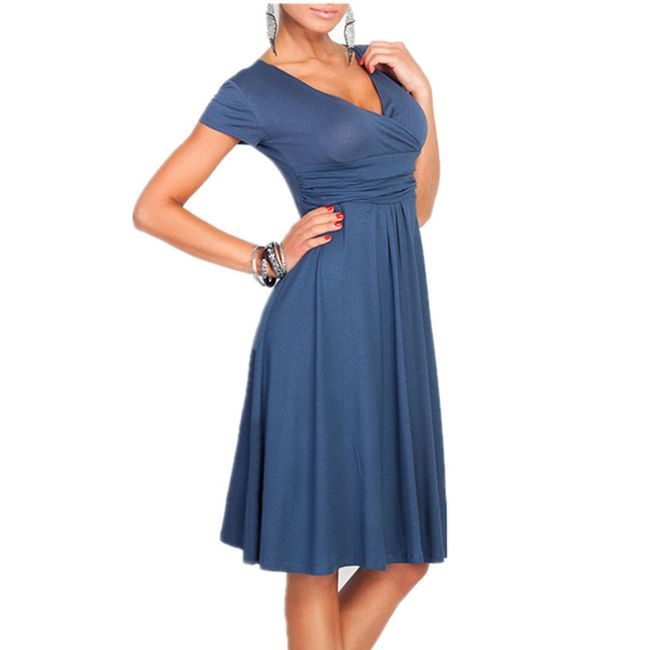 Elegantní šaty ke kolenům - choice b - velikost č. 2 1