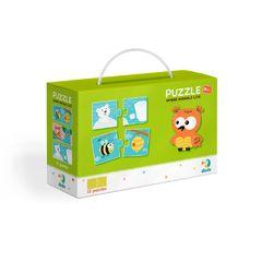 Puzzle Duo Kde bydlí zvířátka-12x2 dílků RZ_240189