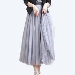 Dlouhá tylová maxi sukně